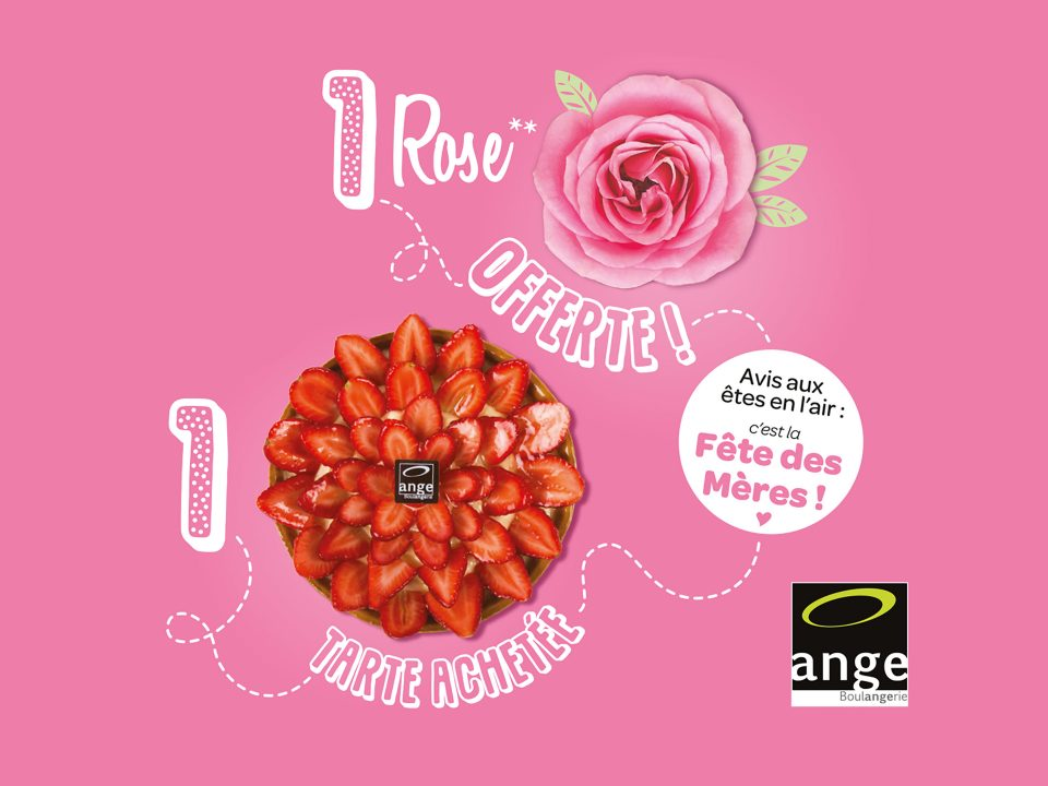Boulangerie Ange - Création fête des mères 2018