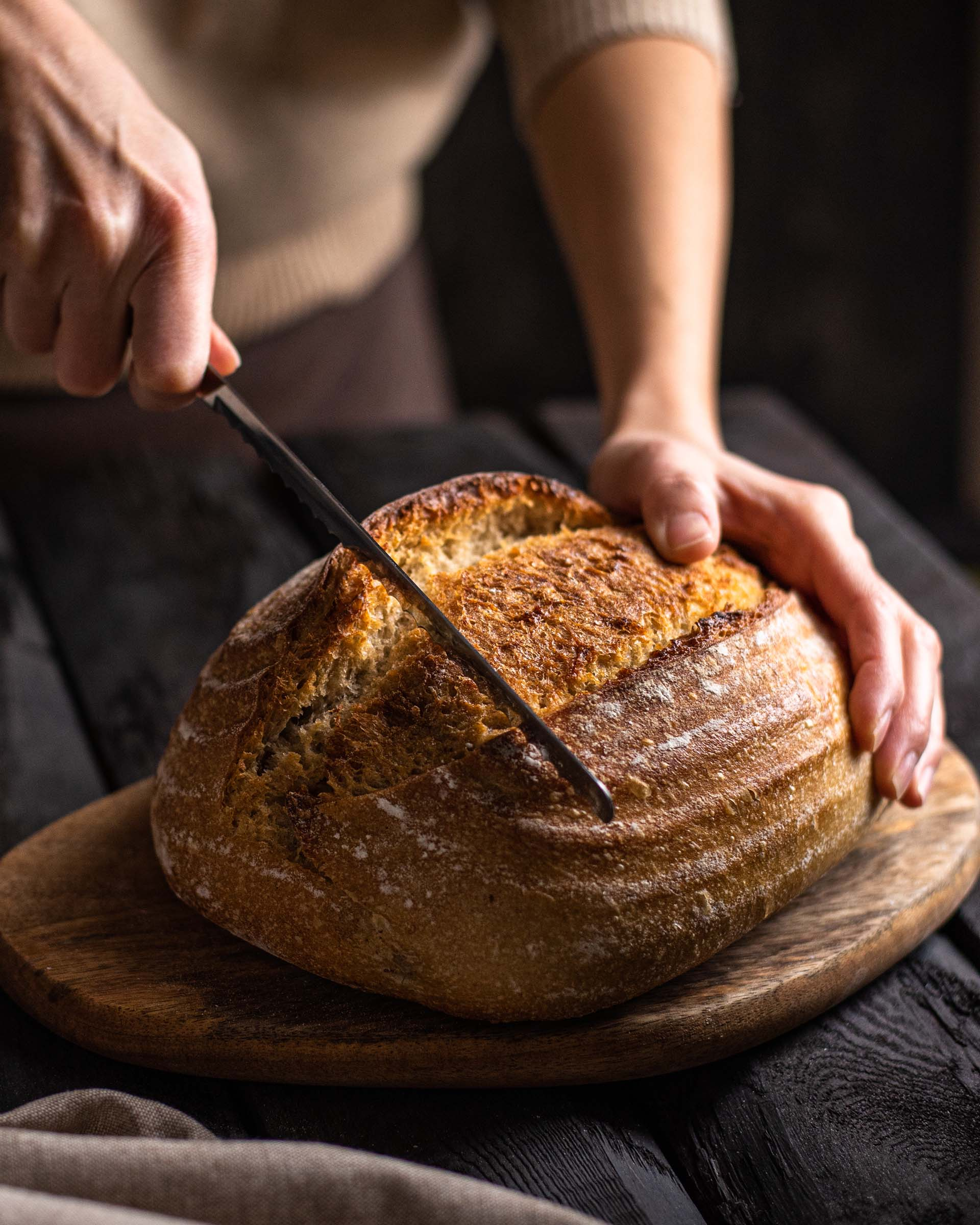 Galina Afanaseva - Homemade Artisan Sourdough from Foodiesfeed